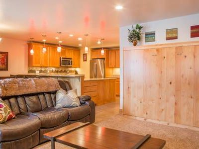 Photo for Location! Views! Pool! Amazing in-town 2 Bed/2 Bath.Heated Garage!
