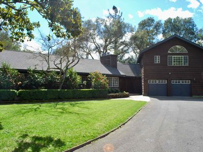 Photo for Private and Spacious Napa Home with Pool and Vineyard Views on 1.3 Acres
