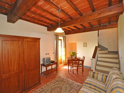 Photo for One bedroom Apartment, sleeps 3 in Borgo a Giovi with Pool and WiFi