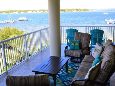 Photo for LUXURY 3 bed condo!  Lots of extras - total family comfort.  Beach service incl.