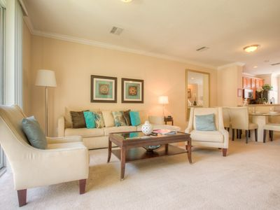 Photo for Upscale townhome with three levels of privacy, luxury, and comfort!