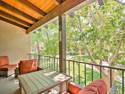 Photo for NEW! Sedona Condo w/Spas, Balcony & Serene Views!