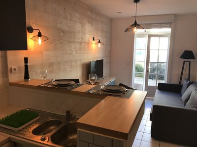 Photo for 1BR Apartment Vacation Rental in Châtelaillon-Plage, Nouvelle-Aquitaine