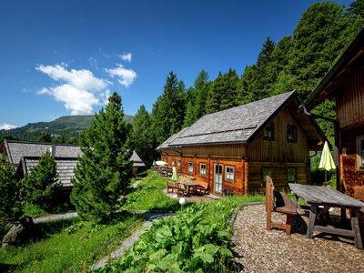 Photo for Family-sized wooden chalets near Turracher Höhe