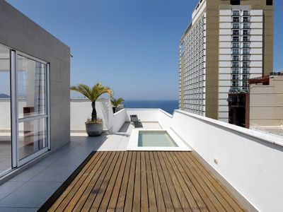 Photo for Rio222-Spaceful Penthouse in Copacabana