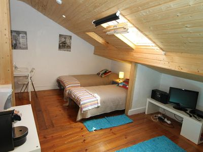 Photo for NEW! Comfortable studio at trendy Principe Real – Bairro Alto - historic heart of Lisbon