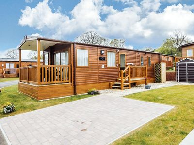 Photo for Luxury lodge at Haveringland park near great fishing lakes, Norwich ref 16018