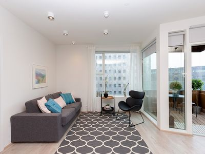 Photo for Salka Suites, New stylish apt. for 5 downtown Rvik