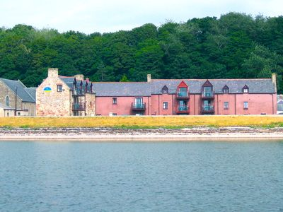 Photo for 2 bedroom apartment with breathtaking views right on the beach near Inverness