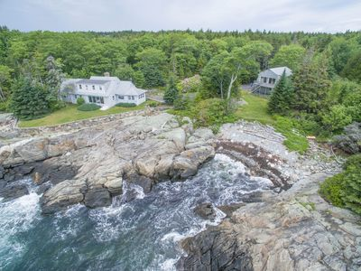 Photo for Pointed Fir Cove: Stunning Ocean Front Maine Retreat for Discerning Vacationers!