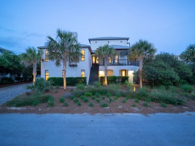 Photo for 6BR Beach Home with Gulf Views and Private Infinity Pool Steps to the Beach