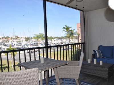 Photo for PARADISE FOUND!! 2nd Floor condo w/ Marina View, Recently Updated