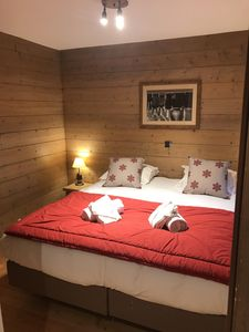 Photo for Cozy apartment in a residence with quality services (swimming pool, sauna ...) - door Access to Paradiski Vallandry / Les Arcs