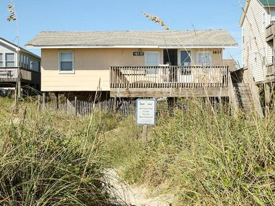 Photo for Russell In The Wind: 3 BR / 2 BA home in Oak Island, Sleeps 8