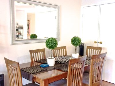 Photo for ❤️Great for families.2bdr/5 bds,equipped kitchen, Pool,  WIFI,  Breakfast incl❤️