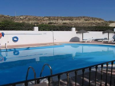 Photo for Vera Colina 11 apartment in Almeria with WiFi, integrated air conditioning, private parking & lift.