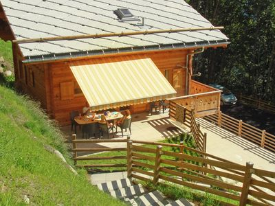 Photo for Beautiful and spacious luxury Chalet on a sunny hillside in the ski area.