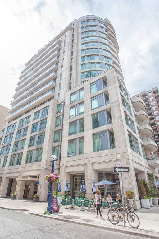 Luxury Yorkville Condo (One Bedroom Plus Den & Two Balconies & Parking)