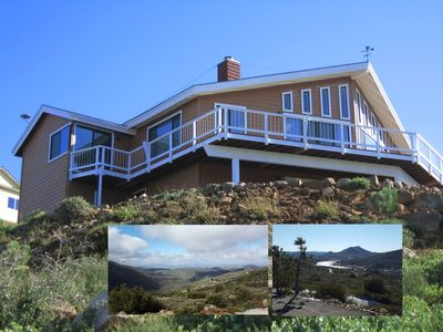 """Photo for """"Top of the Mountain!"""" Custom Home Lake Views A/C"""