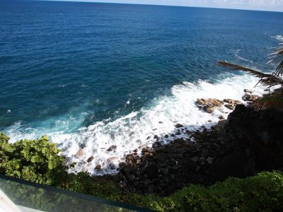 Photo for Absolute Ocean cliff Beach House w/ Pool and Spa overlooking Beach!