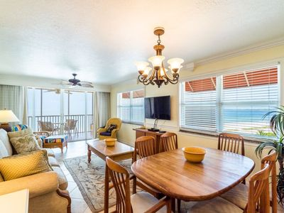 Photo for Live the High Life! 7th Floor Top Floor Beachfront Condo with Heated Pool!