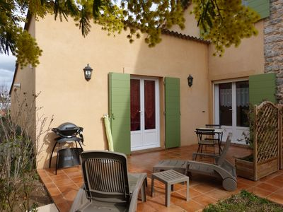 Photo for T1bis 40m2 - Ground floor of a charming house, quiet in the countryside, 3km from the beaches