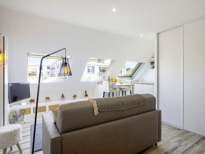 Photo for Nice and bright studio two steps away from the beach in Biarritz - Welkeys