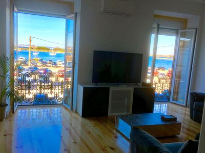 Photo for Lisbon South Bay - Charming Sea view apartment