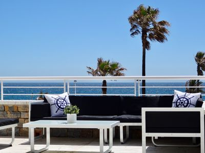 Photo for NEW LISTING. Casares del Mar. Spectacular first line apartment. Large terrace