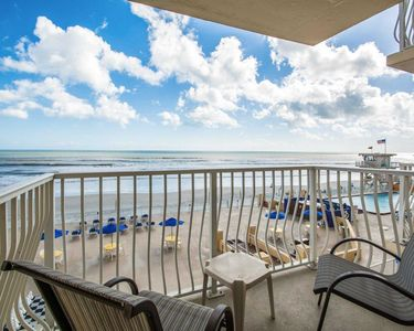 Photo for Daytona 500 Week ~ Feb. 16 -23, 2019 ~ 2 BR / 2 Bath Oceanfront Villa