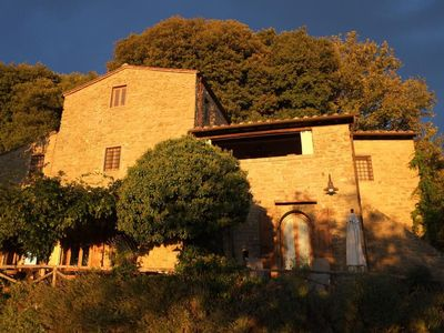 Photo for Castelfranco di Sopra holiday home for 2 - 4 people with 2 bedrooms - farmhouse