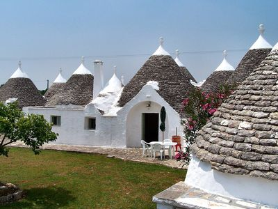 Photo for Conical, historical trullo in Itria Valley in Puglia