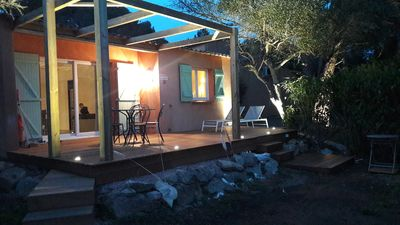 Photo for Palombaggia villa 3 pers. renovated sea view