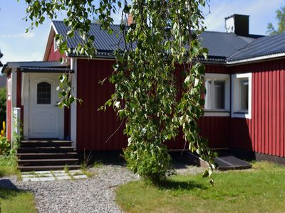Photo for Enjoy the tranquil beauty of Swedish Lapland in a spacious holiday home