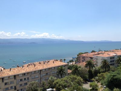 Photo for AJACCIO - APARTMENT 110 M2 - 3 BEDROOM, CENTER, SHOPS, BEACH 150M