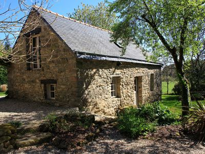 Photo for Beautiful character cottage in a peaceful rural location near Guemene sur Scorff