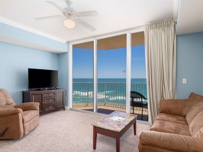 Photo for Tidewater 11th Floor-Sleeps 6-Best Amenities on the Beach! Gulf Front!