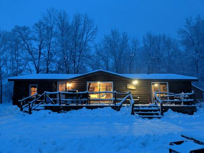 Photo for Mille Lacs getaway located on private inlet