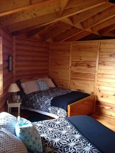 Second Bedroom (2 douple beds) and a cot is available.