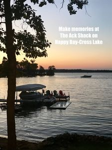 Make Memories at The Ack Shack on Happy Bay, Crosslake, Mn,  Whitefish Chain