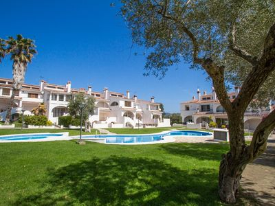 Photo for Club Villamar - Nice semi-detached holiday home with a big communal pool.