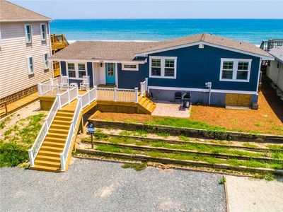 Photo for APPEL COTTAGE: 4 BR / 2 BA oceanfront in Topsail Beach, Sleeps 10