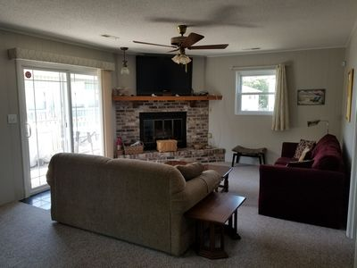 Photo for Family-friendly 2 Bdrm 2 Bath, 2 Blocks from the Beach w/highspeed WiFi