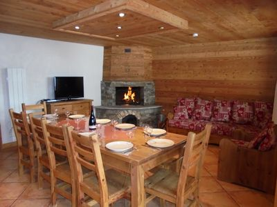 Photo for The dacha *** Bonneval on arc rental in the mountains in ski resort.