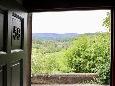 Photo for Fabulous former weaver's cottage looking out over the Holme Valley
