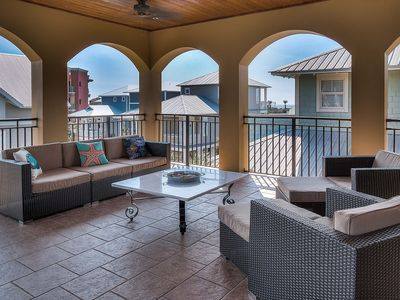 Photo for Seacrest Beach Hom HUGE 3rd Floor Veranda + Gulf Views + Elevator+FREE Bikes