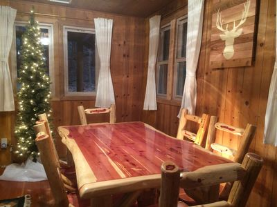 Photo for Historic 1922 Cabin with Modern Amenities