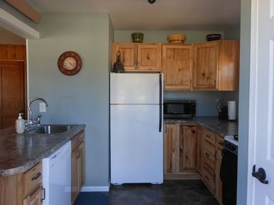 Complete kitchen including dishwasher for your convenience