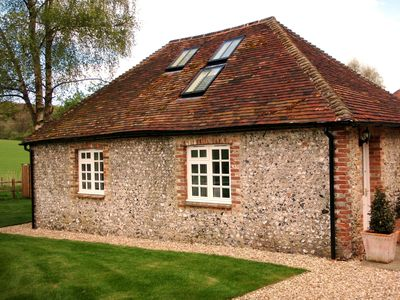 Photo for Luxury 5 star barn conversion in South Downs National Park, near Chichester