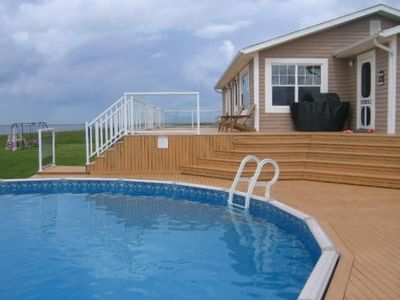 Photo for Beach House on Ocean with pool -Special price for holiday week Aug31st-Sep7th